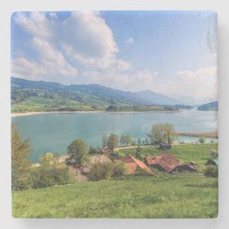 Porta Copos De Pedra Lago do Gruyère, suiça