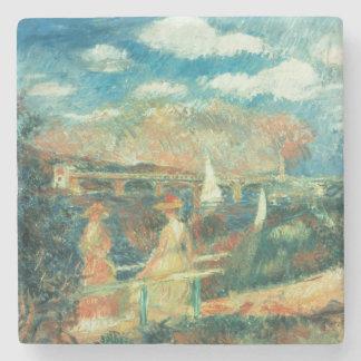 Porta Copos De Pedra Pierre bancos de Renoir um | do Seine em