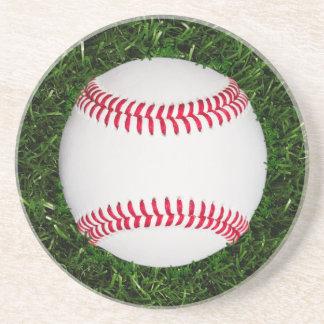 Porta copos do arenito do basebol