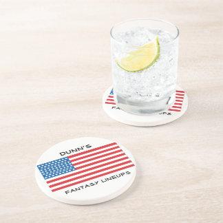 Porta copos do arenito patriótica