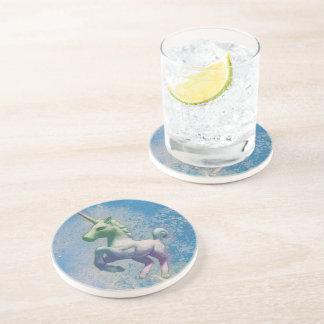 Porta copos do unicórnio - arenito Rnd (ártico