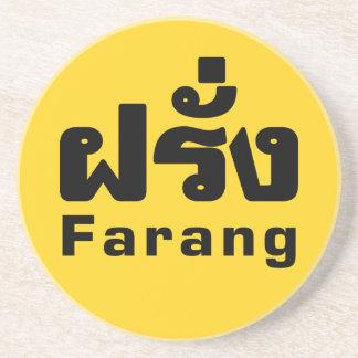 Porta-copos Estrangeiro do ♦ de Farang no ♦ do roteiro da