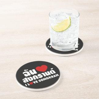 Porta-copos Eu amo (coração) Songkran