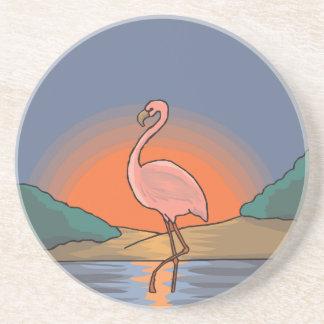 Porta-copos flamingo #14