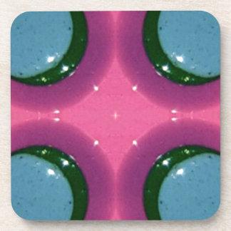 Porta-copos Fotografia brilhante magenta da cerâmica da