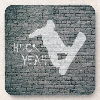 Porta-copos Huck yeah (snowboarding)