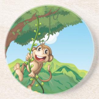 Porta-copos Macaco