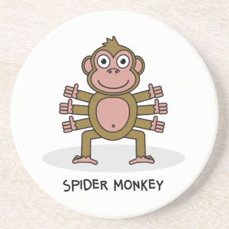 Porta-copos Macaco de aranha