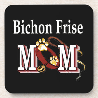 Porta-copos Mamã de Bichon Frise