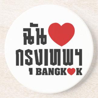 Porta-copos Mim coração Banguecoque [Krung Thep]