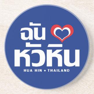 Porta-copos Mim ❤ Tailândia de Hua Hin do coração (amor)