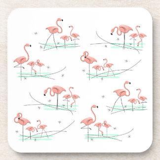 Porta-copos Multi portas copos dos flamingos plásticas