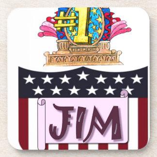 Porta-copos Número um Jim