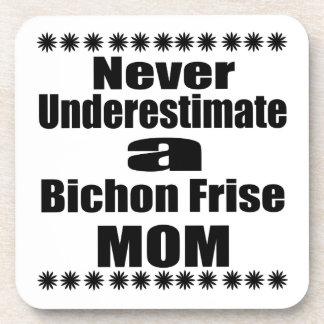 Porta-copos Nunca subestime a mamã de Bichon Frise