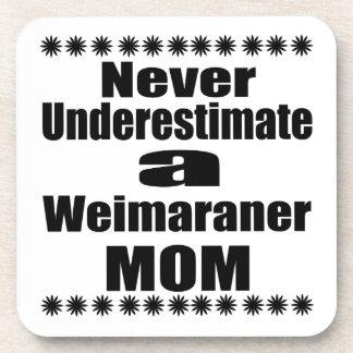 Porta-copos Nunca subestime a mamã de Weimaraner