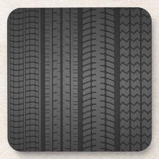 Porta-copos padrões do passo do pneu
