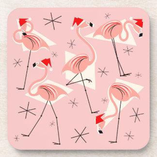 Porta-copos Portas copos cor-de-rosa de Santa do flamingo