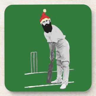 Porta-copos Presentes cricketing do Natal do estilo do vintage