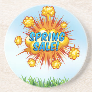 Porta-copos Rolos de primavera