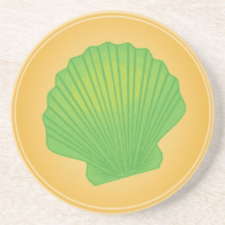Porta-copos Seashells brilhantes - fã
