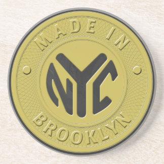 Porta-copos Símbolo de metro de Brooklyn
