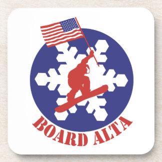 Porta-copos Snowboard Alta
