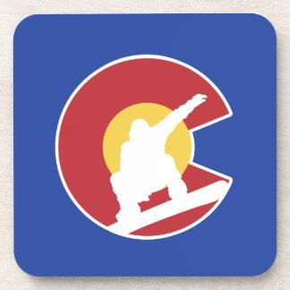 Porta-copos Snowboard de Colorado