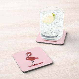 Porta-copos Trabalhos de arte do flamingo