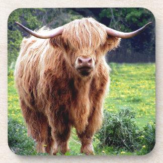 Porta-copos Vaca com cenário bonito da natureza dos chifres