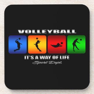 Porta-copos Voleibol legal é um modo de vida