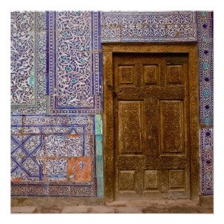 Porta do palácio de Toshxauli Convites Personalizado