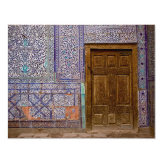 Porta do palácio de Toshxauli Convite Personalizado