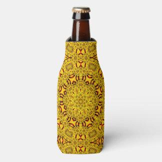 Porta-garrafa Refrigerador colorido da garrafa do caleidoscópio