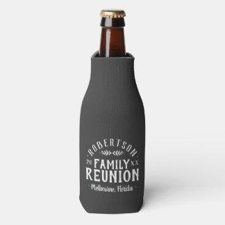 Porta-garrafa Reunião de família personalizada rústica moderna