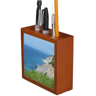 Porta-lápis A ilha de bloco blefa - ilha de bloco, Rhode - a