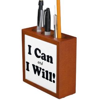 Porta Lápis Eu posso e eu vou faz4e-lo