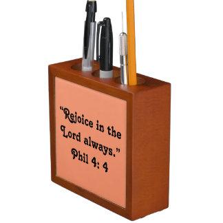 """Porta Lápis """"Exulte"""" o organizador inspirador da mesa"""