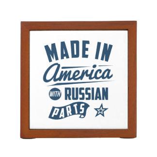 Porta Lápis Feito em América com peças do russo
