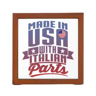Porta Lápis Feito em América com peças italianas