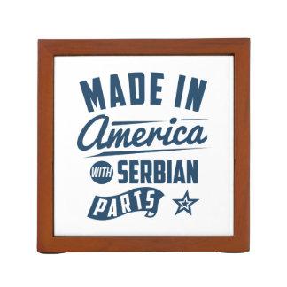 Porta Lápis Feito em América com peças sérvios
