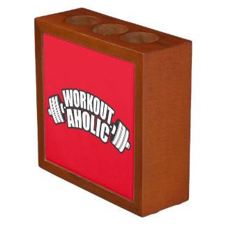 Porta-lápis Humor do exercício - Workoutaholic