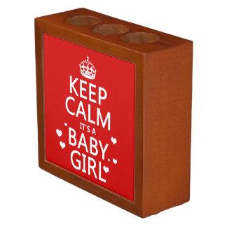 Porta Lápis Mantenha a calma que é um bebé