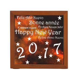 Porta Lápis O feliz ano novo 2017