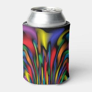 Porta-lata A fonte do arco-íris podem ou o refrigerador da