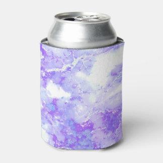 Porta-lata Pedra de mármore nebulosa da lavanda roxa