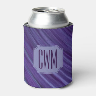 Porta-lata Roxo violeta | do Lilac indiferente do monograma