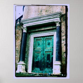 Porta verde. .photography por originais de JB Poster