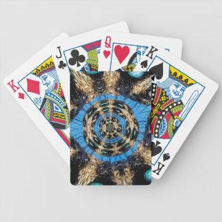Portal psicadélico da aranha baralhos de pôquer