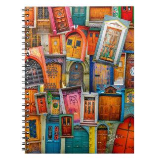 Portas do caderno do mundo