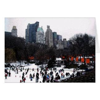 Portas do Central Park Cartão Comemorativo